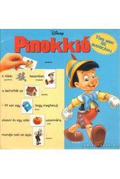 Pinokkió - Walt Disney - Régikönyvek