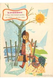 Kisdobos 1963. április 4. szám - Gergely Márta - Régikönyvek