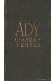 Ady összes versei - Ady Endre - Régikönyvek