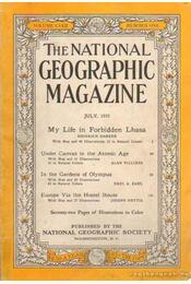 The National Geographic Magazine 1955, July - la Gorce, John Oliver (szerk.) - Régikönyvek