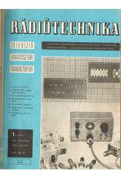 Rádiótechnika 1965. (teljes évfolyam) - Stefanik Pál - Régikönyvek