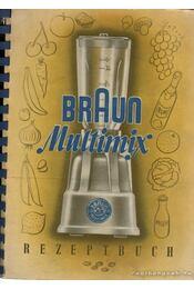 Braun Multimix - Rezeptbuch - Régikönyvek