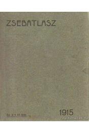 Zsebatlasz 1915. - Dr. Kogutowicz Károly, Dr. Bátky Zsigmond - Régikönyvek