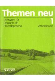 Themen neu 1 - Arbeitsbuch - Bock, Heiko, Eisfeld, Karl-Heinz, Holthaus, Hanni, Schütze-Nöhmke, Uthild - Régikönyvek