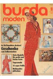 Burda Moden 1984/11. November (német nyelvű) - Régikönyvek