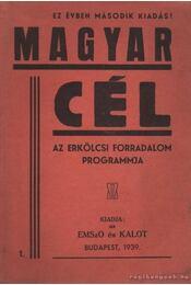 Magyar cél - Régikönyvek
