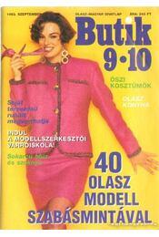 Butik 1993. szeptember-október - Moldován Katalin - Régikönyvek