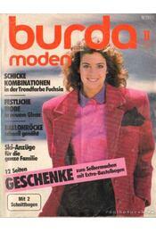 Burda Moden 1987/11 - Régikönyvek