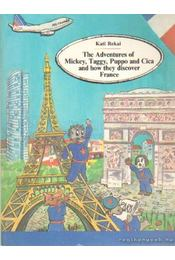 The Adventures of Mickey, Taggy, Puppo and Cica and how they discover France - Kati, Rekai - Régikönyvek