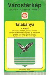 Tatabánya Várostérkép (1:17500) - Régikönyvek