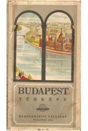 Budapest térképe 1962. - Régikönyvek
