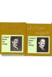 A Nyugat ankétja I-II. kötet (Babits-ról) (mini) - Téglás János - Régikönyvek