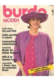 Burda Moden Mai 1989 (német nyelvű) - Régikönyvek