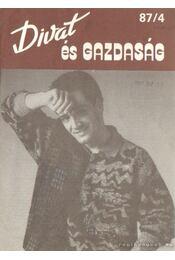 Divat és gazdaság 87/4 - Vas Sándor - Régikönyvek