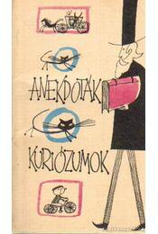 Anekdoták kuriózumok - Klinov, A. - Régikönyvek