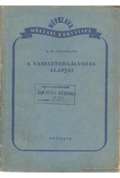 A vasesztergályozás alapjai - Ogloblin, A. N. - Régikönyvek