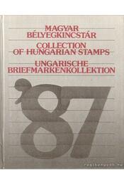 Magyar bélyegkincstár 1987 - Régikönyvek