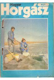 Magyar Horgász 1983. (teljes) - Vigh József - Régikönyvek