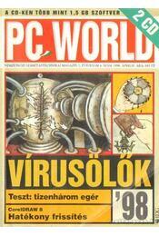 Pc World 1998. április 4. szám - Mészáros Csaba - Régikönyvek