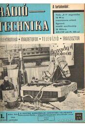 Rádiótechnika 1968. (teljes évfolyam) - Stefanik Pál - Régikönyvek
