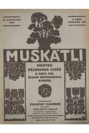 Muskátli 1934. február 5. szám - Zulawsky Elemérné - Régikönyvek