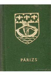 Párizs (mini) - Harsányi László - Régikönyvek