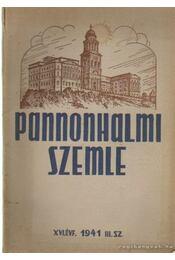 Pannonhalmi szemle 1941. III. sz. - Dr. Mihályi Ernő - Régikönyvek