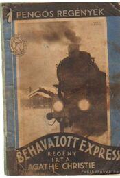 Behavazott express - Agatha Christie - Régikönyvek