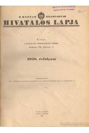 A MAgyar Államvasutak hivatalos lapja 1958. évfolyam - Régikönyvek