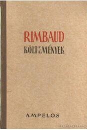 Rimbaud költemények - Rimbaud, Arthur - Régikönyvek