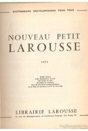 Nouveau Petit Larousse (1972) - Régikönyvek