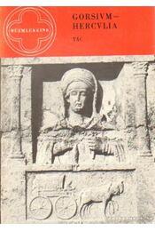Gorsium-Hercvlia - Fitz Jenő - Régikönyvek