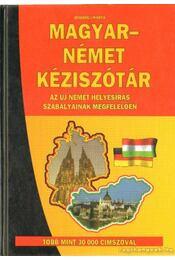 Magyar-német kéziszótár - Bodrogi Márta - Régikönyvek