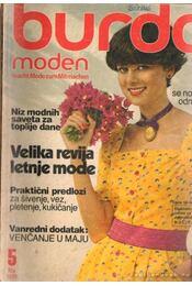 Burda Moden Mai 1979 (német nyelvű) - Régikönyvek