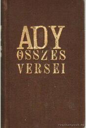 Ady Endre összes versei - Ady Endre - Régikönyvek