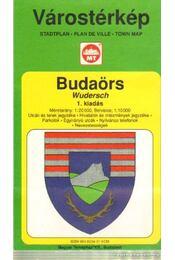 Budaörs várostérkép (1:20000) - Régikönyvek
