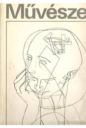 Művészet 1980. január - Rideg Gábor - Régikönyvek