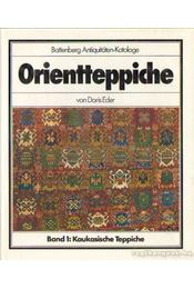 Orientteppiche - Band 1: Kaukasische Teppiche - Eder, Doris - Régikönyvek