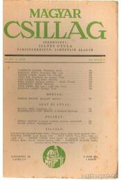Magyar Csillag 1943. június 12. szám - Illyés Gyula - Régikönyvek