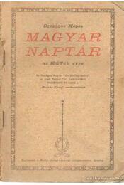 Magyar naptár az 1927-ik évre - Régikönyvek