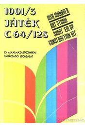 1001/3 Játék C64/128 - Kiss László, Szécsi György - Régikönyvek