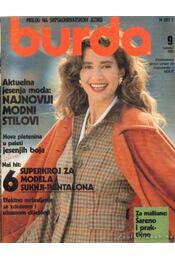 Burda Septembar 1989 (szerb-horvát, német nyelvű) - Régikönyvek