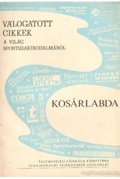 Kosárlabda - Krasovec Ferenc - Régikönyvek