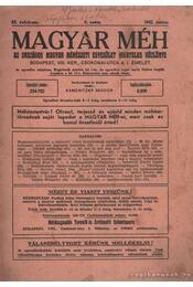 Magyar méh 63. évfolyam 6. szám 1942. június - Régikönyvek