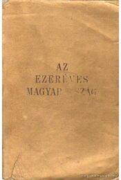 Az ezeréves Magyarország - Régikönyvek