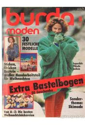 Burda (német) 1985. november 11. - Régikönyvek