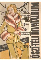 Ősz-téli divatalbum 1974-75 - Régikönyvek