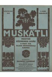 Muskátli 1933. február 5. szám - Zulawsky Elemérné - Régikönyvek