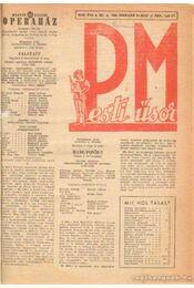 Pesti műsor 1968-69 (Töredék) - dr. Szánthó Dénes (szerk.) - Régikönyvek