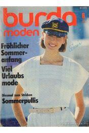 Burda Moden Juni 1984 (német nyelvű) - Régikönyvek